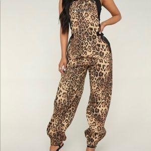 Fashion Nova Leopard Jumpsuit! 🐆